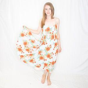 PAPER CROWN RIFLE PAPER Co Poppy Field Dress 0271
